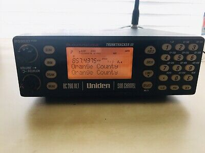 Uniden Bearcat BCT8 with 800 MHz TrunkTracker III NASCAR Edition Scanner