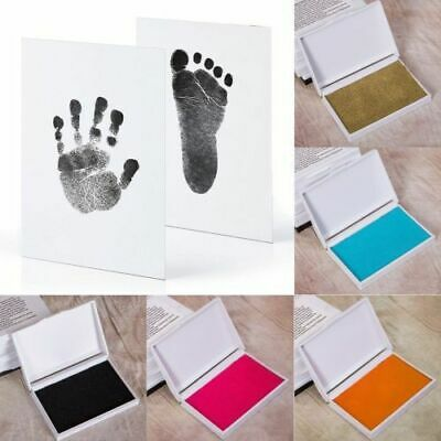 Paw Print Ink Pad Foot Touch Pad Newborn Souvenir Gift Handprint Stamp Hand