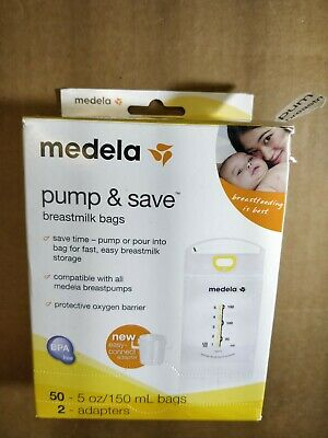 Medela Pump & Save BreastMilk Bags (48) Only - All Never Used