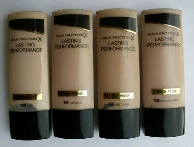 MAX FACTOR TOUCH PROOF Lasting Performance Foundation 35ml-VARIOUS USE DROP MENU