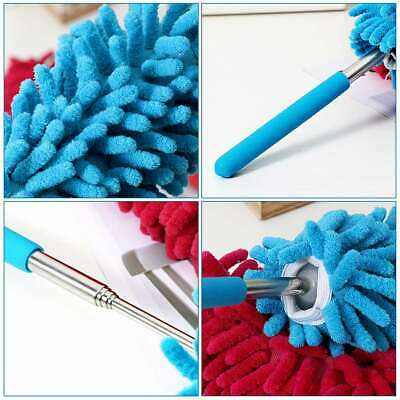 BESTOMZ 3PCS Hand Dusters Microfiber Dusting Brush for Home Car Cleaning Kitchen