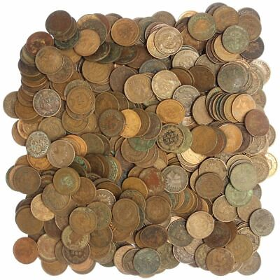 Indian Head Penny Cull 20 Coin Lot, Low Grade Coins Choose How Many!