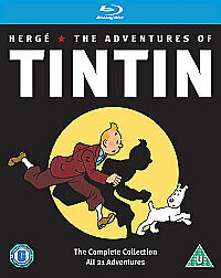 The Adventures of Tintin Complete Collection Box Set DVD - Brand new sealed box