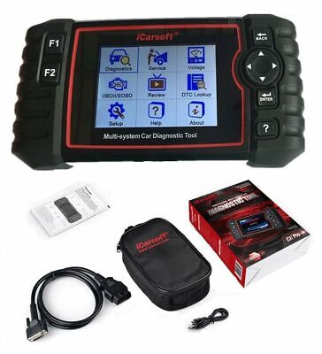 iCarsoft CR PRO - 2019 FULL System ALL Makes Diagnostic Tool DPF ABS AIRBAG SAS