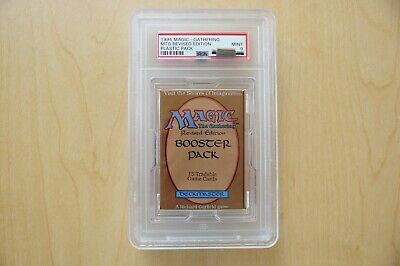 Magic: The Gathering MTG Revised 3rd Edition Booster Pack MINT PSA 9 Unsearched
