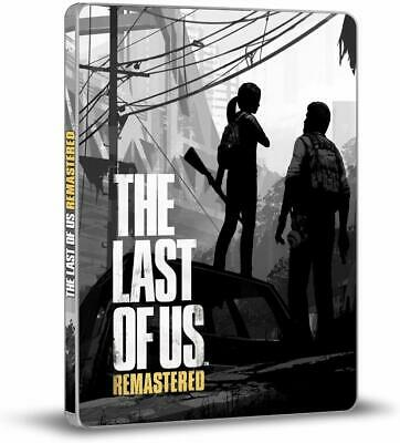 The Last Of Us Remastered- Ltd Edition Steelbook + Game [PS4] New and Sealed!!