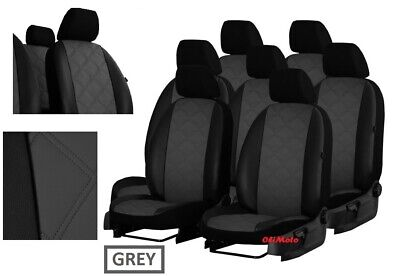 """UPHOLSTERY FABRIC /""""VIP/"""" TAILORED SEAT COVERS FOR HONDA CR-V MK4 2012-2018"""