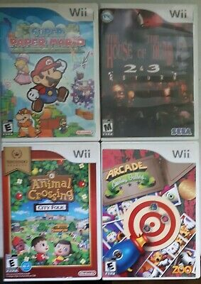 Animal Crossing: City Folk, Super Paper Mario,  The House of the Dead 2 & 3 more