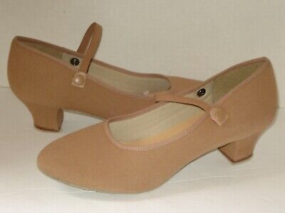 SO DANCA R002 Caramel Royal Canvas 2 in. Character Shoes 7.5 M
