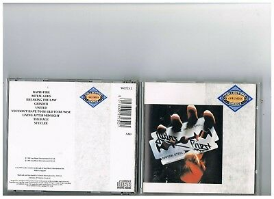 Judas Priest Cd. British Steel. Rare Collectors Choice Edition