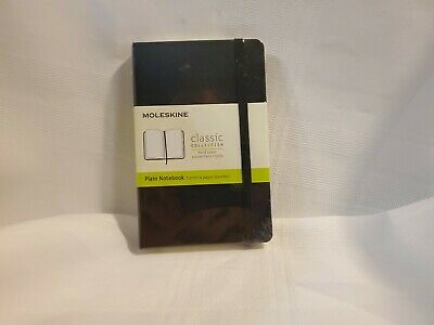Moleskine Classic Notebook Pocket Plain Black Hard Cover 3.5 X 5.5 by Moleskine