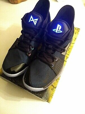 best cheap 24dab 17f38 NIKE PAUL GEORGE 2 pg2 playstation Size 9.5 DS AT7815-002 ...