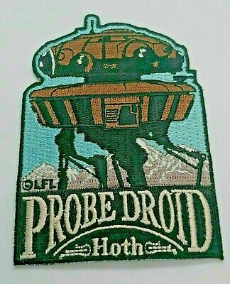 Star Wars Probe Droid -Hoth Embroidered Patch -new
