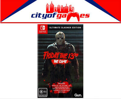 Friday the 13th - Ultimate Slasher Edition Nintendo Switch Game New In Stock