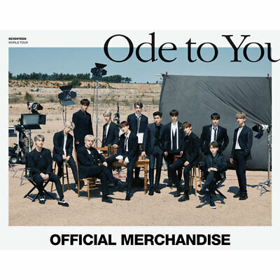 SEVENTEEN WORLD TOUR [ODE TO YOU] Official Merchandise