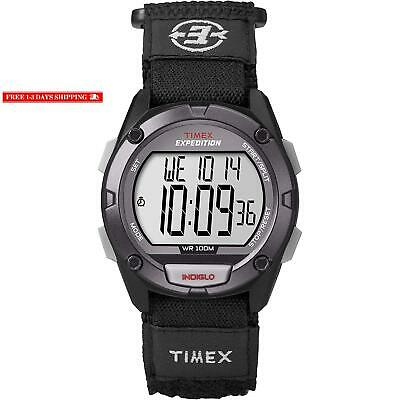 TIMEX T49992 EXPEDITION Classic Digital Chrono Alarm Timer 41mm