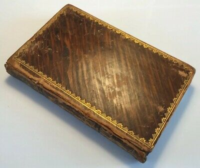 Fables, By John Gay, 100 Engravings On Wood By Branston, 1811 Antique Book