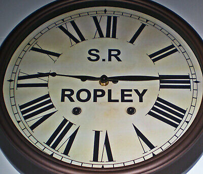 Southern Railway, SR Historic Style Station Clock, Ropley Station