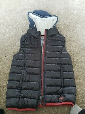 Girls Next Gilet With Fur Lined Hood Age 11 Immaculate