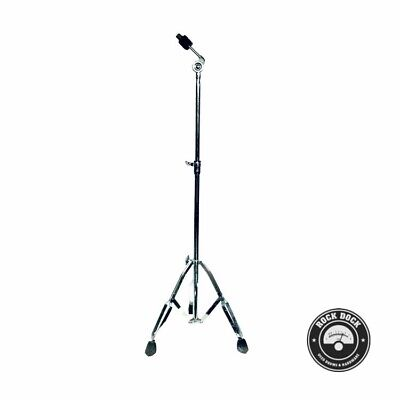STANDS: Pearl Drums, Heavy Duty, Double Braced Cymbal Stand, Rock Dock, USED