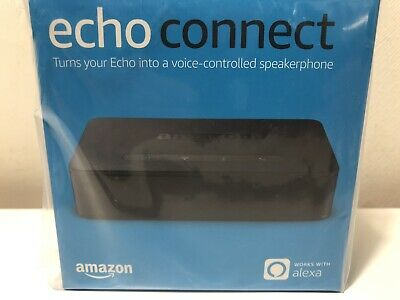 Echo Connect Turns Your Echo Into Voice Control Speaker Phone Hands Free Black