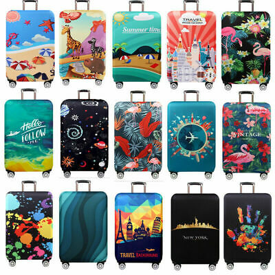 """18""""-32"""" Protective Luggage Suitcase Dust Cover Protector Elastic Anti Scratch Q3"""