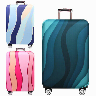 """18""""-32"""" Colorful Suitcase Luggage Cover Protector Elastic Anti-scratch Dustproof"""