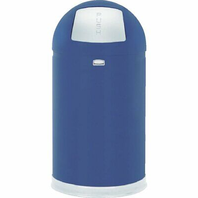 Rubbermaid Commercial FGR1530EPLCOB Firesafe Refuse Container Cobalt Blue 12gal