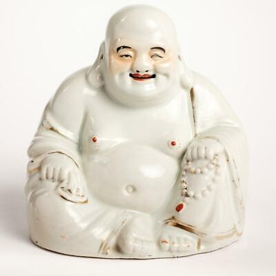 "Chinese porcelain Buddha Antique 19/20C. 10"" / 25cm"