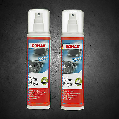 2x Sonax Protectant Semi Gloss 300ml 383041
