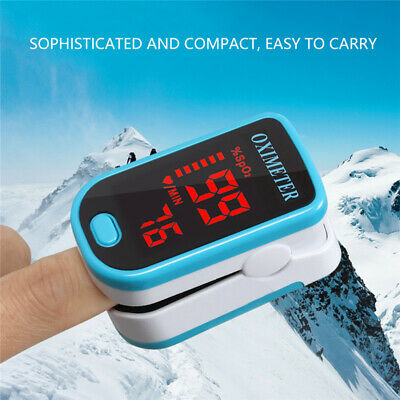 2019 Pulse Oximeter Finger SpO2 Oxymetre Blood Oxygen Monitor Heart Rate Meter