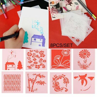 Stamp Layering Stencils Wall Painting Embossing Template Scrapbooking