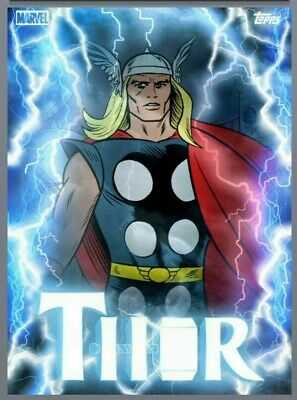 Topps Marvel Collect Card Trader Thorsday MOTION - Classic Thor (Week 12)