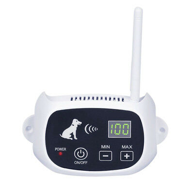 Waterproof Wireless Pet Dog Fence Containment System Electric Transmitter Collar