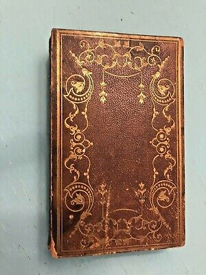 ANTIQUE BOOK OF COMMON PRAYER Protestant Episcopal Church 1845 Framingham Mass