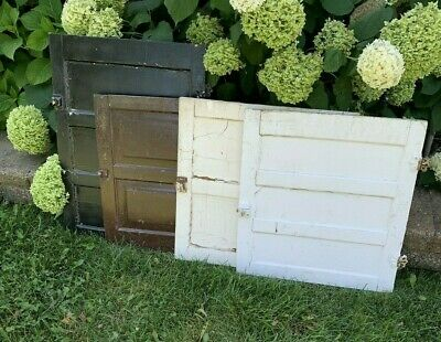 Antique Vintage Set Of 4 Cabinet Kitchen Cupboard Pantry Doors w/ Latches