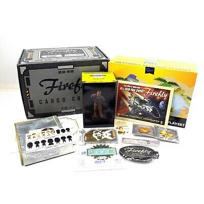 Firefly Loot Cargo Crate Contents Qmx Mini Masters Pin Plaque Playset Box