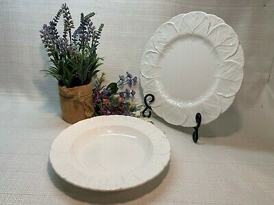 Coalport Wedgwood Fine Bone China Countryware. Dinner Plates & Soup Bowls NICE!!