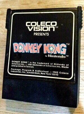 Donkey Kong (Colecovision, 1982) Clean, Tested + Great!