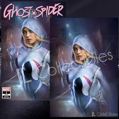 🔥 Spider-Gwen Ghost Spider #1 Shannon Maer Trade + Virgin Exclusive Variant Set
