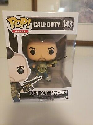 "Funko Pop Call Of Duty 143 John ""Soap"" MacTavish"