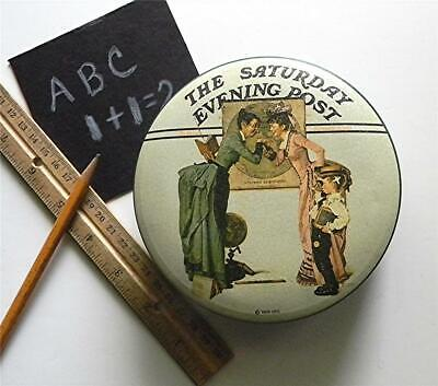 "Saturday Evening Post Norman Rockwell Collector's Series Ii ""School Days"" Tin"