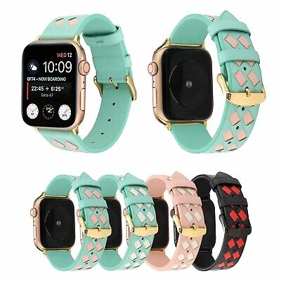 Genuine Leather Single Tour Watch Band Strap For Apple iWatch 4/3/2/1 42/40/44MM
