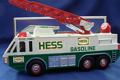 Hess Toy Emergency Truck With Ladder 1996 MIB