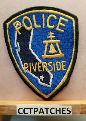 RIVERSIDE CALIFORNIA PUBLIC Safety Communications Patch ++