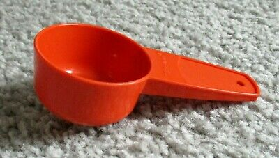 Tupperware Mini Funnel Orange #877 Fills Salt & Pepper Shakers & Spice Bottles