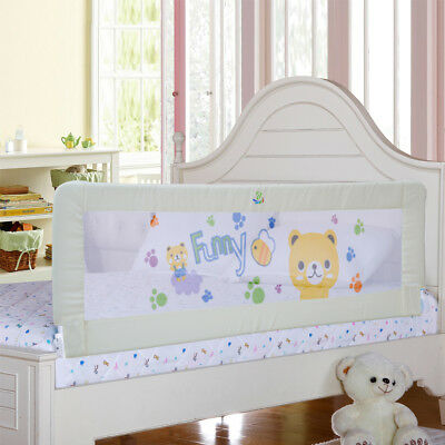 Toddler Bed Rail Guard Rail Extra Long Safety Bed Guard for Convertible Crib