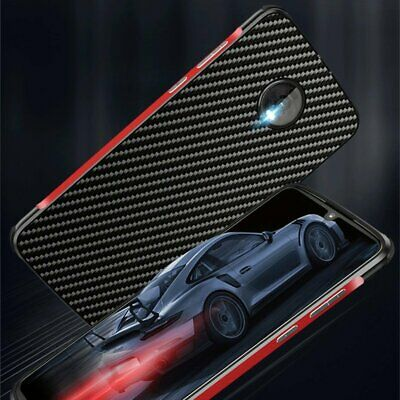 For Motorola Moto Z4 Metal Aluminum Bunper PC Carbon Fiber Shockproof Cover Case