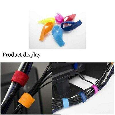 Cable Tie Winder Band Strap Wire Organizer Electrical Equipment & Supplies 10Pcs