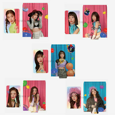 Red Velvet HOLOGRAM PHOTO CARD SET - The ReVe Festival' Day 1